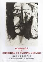 Hommage a Christian et Yvonne Zervos by Pablo Picasso