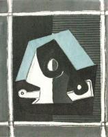 Composizione con Pipa by Pablo Picasso