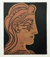 Female Head in Profile by Pablo Picasso