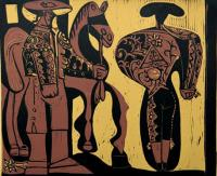 Picador and Matador  by Pablo Picasso