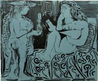Two Women by Pablo Picasso