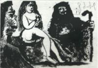 Untitled (Bloch 1631) by Pablo Picasso