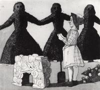 Mary, Mary, Quite Contrary (2) by Paula Rego