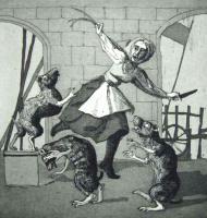 Three Blind Mice by Paula Rego