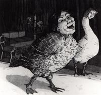 Goosey Goosey Gander by Paula Rego