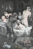 Rub a Dub Dub by Paula Rego