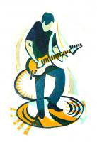Guitar by Paul Cleden