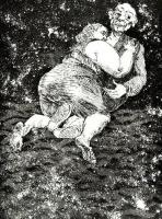 Gaping Chasms and Stars by Paula Rego