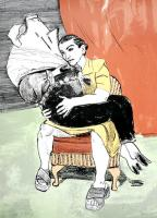 The Seduction of Prince Pig by Paula Rego