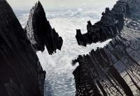 Sea Rocks by Pine Feroda