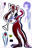Tromba in the Rain by Rachel Anne Grigor