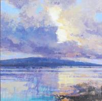 Gilded Light on the Exe by Ray  Balkwill