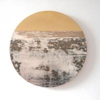 Mixed Metals, Circle 345 by Rebecca  Gouldson