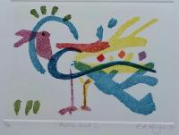 Exotic Bird 1  by Rachel Anne Grigor