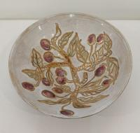 White Berry Bowl (Reserved) by Sue Blagden