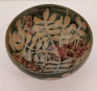 Berry and leaf bowl  by Sue Blagden