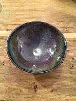 Small Purple and Blue Bowl by Sue Blagden
