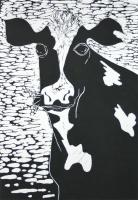 Landscove Cow by Sally-Ann Crowe
