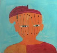Head 4 by Stephen Chambers RA