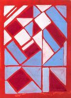 Composition in Red, Blue and White by Sonia Delauney