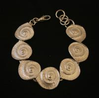 Ammonite Bracelet by Steve Whitford