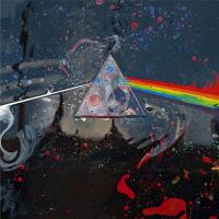 Liquid Dark Side of the Moon by StormStudios (after Thorgerson) Storm Thorgerson