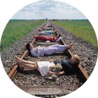 Yumi Matsutoya - Train of Thought (Circle) by StormStudios (after Thorgerson) Storm Thorgerson