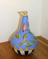 Blue Gourd by Theresa  Edwards