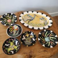 Heran Platter by Theresa  Edwards