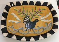 Large Rectangular Dish by Theresa  Edwards