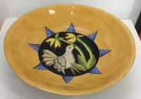Large Yellow Bowl  by Theresa  Edwards