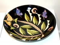 Large Bowl (black) by Theresa  Edwards