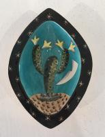 Cacti dish by Theresa  Edwards