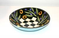 Small Round Bowl by Theresa  Edwards