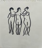 Three Graces c.1970 by Sir Terry Frost