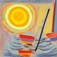 Sun and Boats by Sir Terry Frost
