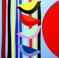 Vertical Rhythms II by Sir Terry Frost