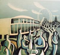 Lunch at The Royal festival Hall  by Trevor Price RE