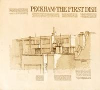 Peckham: The First Dish 1990 by Tom Phillips CBE RA