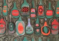 Bottles 1951 by Wendy  Bray