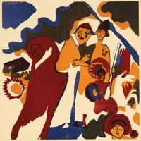 Allerheiligen by Wassily Kandinsky