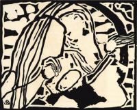 Motiv Aus Improvisation 10 by Wassily Kandinsky