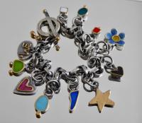 Charm Bracelet  by Zsuzsi Morrison
