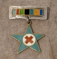 Star and cross Brooch  by Zsuzsi Morrison