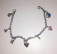 7 Charm Bracelet by Zsuzsi Morrison