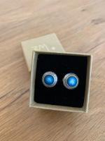 Midnight Blue Domes Studs Large by Zsuzsi Morrison