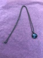 Small Mooncloud Pendent  by Zsuzsi Morrison
