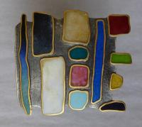 Picture Brooch by Zsuzsi Morrison