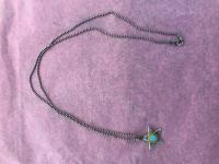 Tiny Pendent Turquoise Star by Zsuzsi Morrison