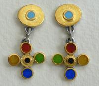 Drop Earrings by Zsuzsi Morrison